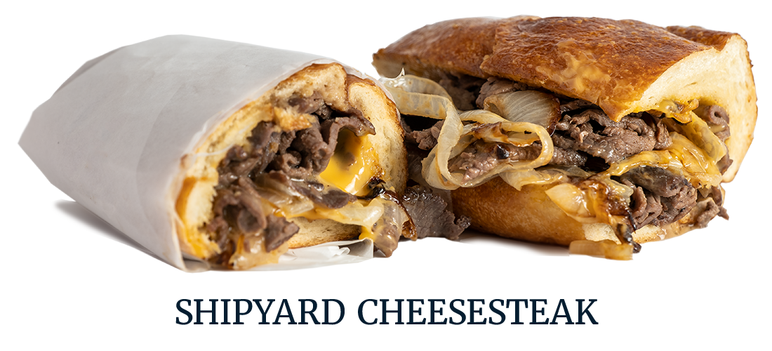 SHIPYARD CHEESESTEAK